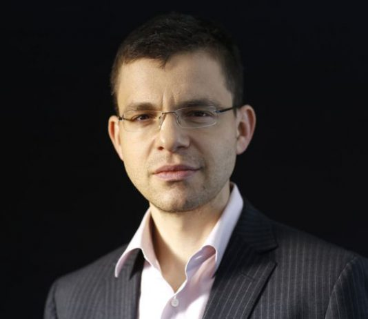 Max Levchin. Автор: Bloomberg | Власник авторських прав: Bloomberg via Getty Images Авторське право: Copyright 2014 Bloomberg Finance LP, All Rights Reserved.